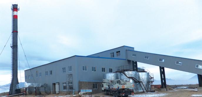 Ховд аймгийн төвд баригдсан 42МВт-н Дулааны станц